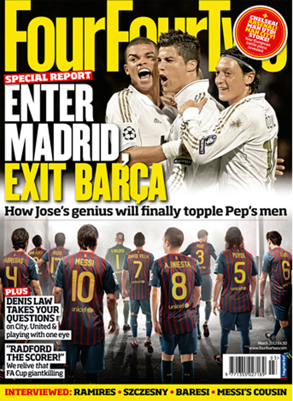 Four Four Two Appearances
