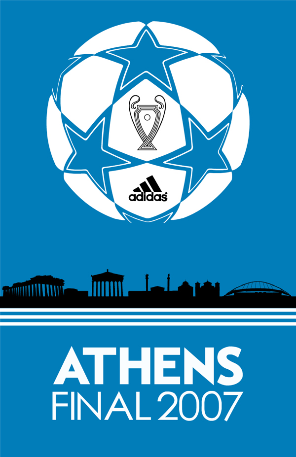 Champions League Artwork for Adidas
