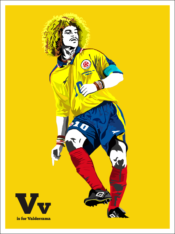 V is for Valderrama